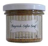 Bayrisch-süßer Senf 105g Glas