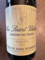 2011 Riesling Clos Saint Urban, Rangen de Thann, Domaine Zind Umbrecht, Elsass 0,75 ltr.