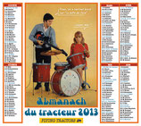 L'Almanach du tracteur 2013