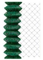 Rollo Simple Torsión 50/14-17  Plastificado Verde (25 metros)