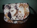 Zirkeltasche für Katzenfreunde