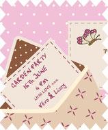"Postkarte ""With Love"""