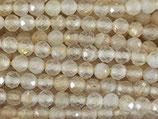 Mineralien·Perlen (1S) - Rutilquarz - facettiert ~3.3mm (870925)