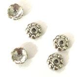 925 Perlenkappe (10) - 6x1.5mm
