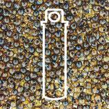 Miyuki Drops 3.4mm - Trans Picasso Dark - Amber (4502)