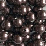 5 Stk. Burgundy 8mm