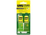 35g. UHU PLUS - Endfest (90 Min.) - 2K Epoxidharzkleber