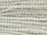 Mineralien·Perlen (1S) - Mondstein - facettiert ~3.7mm