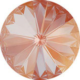 1 Stk. Crystal Orange Glow Delite 12mm