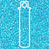 Miyuki Rocailles 11/0 - Silver Lined - Aqua (18)