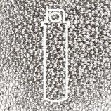 Metal Seed Beads 15/0 - Imit. Rhodium