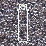 Miyuki Drops 3.4mm - Trans Crystal - Helio (4554)