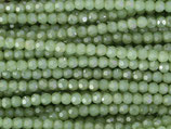 Fac. Rundperlen (1S) - 3mm Chrysolite Opal