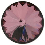 1122 Swarovski (1) - 14mm Antique - Pink