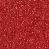 Miyuki Rocailles 15/0 - Red Orange - Transparent (140)