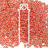 Metal Seed Bead - Orange