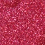 Miyuki Rocailles 15/0 - Carnation Pink Lnd - Crystal (208)
