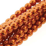 100 Stk. Burnt Orange 6mm