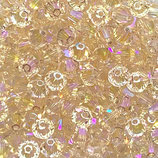 50 Stk. Silk Shimmer 2x 4mm