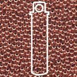 Metal Seed Beads 8/0 - Reines Kupfer
