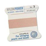 Nylon hellrosa - No. 3