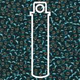 Miyuki Rocailles 8/0 - Transparent Teal (2425)