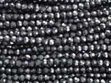 Fac. Rundperlen (1S) - 4mm Hematite 31499