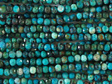 Mineralien·Perlen (1S) - Türkis - facettiert ~2.6mm