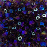 50 Stk. Amethyst Shimmer 2x 4mm