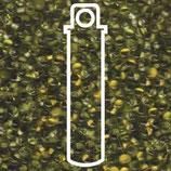Miyuki Drops 3.4mm - Apricot Lined - Chartreuse (F27)
