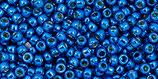 Toho Rocailles 11/0 - Permafinish Galvanized - Ocean Blue - (PF585 †‡)
