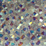 5328 Bicone (50) - 4mm Crystal AB2x
