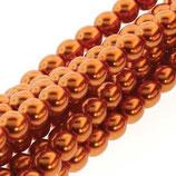 50 Stk. Burnt Orange 8mm