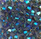 50 Stk. Tanzanite AB2x 4mm