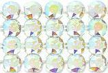 40001 Swarovski (40) - Crystal AB / Silber