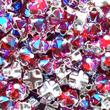 53100 Swarovski (10) - 4mm, Light Siam - Shimmer