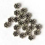 925 Abstandperlen (2) - Bali 4mm