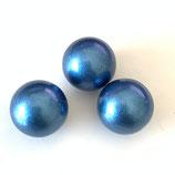 Klangkugel (1) - 12mm Blau metall