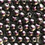 5 Stk. Iridescent Purple 8mm