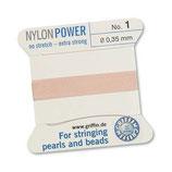Nylon hellrosa - No. 1