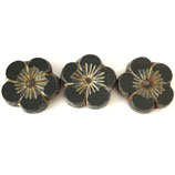 CZ Blumen 22x22mm (2) - Black Opaque