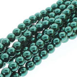 100 Stk. Deep Emerald 6mm