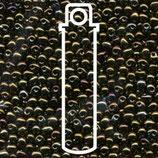 Miyuki Drops 2.8mm - Metallic Dark - Brown Iris (458)