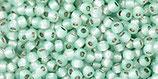 Toho 11/0 - PermaFinish - Silver-Lined Milky Lt Aqua (PF2116 †‡)