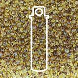 Miyuki Drops 3.4mm - Trans Picasso - Saffron (4501)