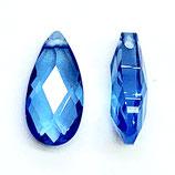 2 Stk. Tropfen, 6x12mm, blau