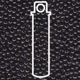 Metal Seed Bead - Gunmetal