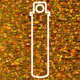 Miyuki Drops 3.4mm - Salmon·Lined - Lime (F13)