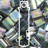 Tila Dark Gray Rainbow Luster (2440D)