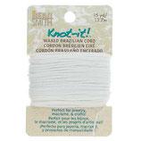 Polyester gewachst - Extra White (Card)